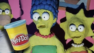 getlinkyoutube.com-The Simpsons couch gag [YOU'RE NEXT]