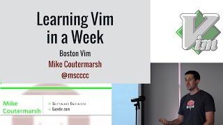 getlinkyoutube.com-Learning Vim in a Week
