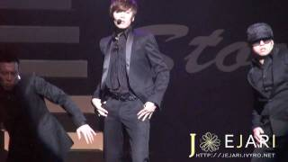 "getlinkyoutube.com-[Fancam 2] Kyu Jong ""Never Let You Go"" at KJ & YS & Story FM 101204"