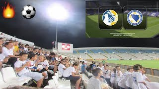 CYPRUS VS BOSNIA 3-2  2018 World Cup Qualifications