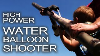 getlinkyoutube.com-Water Balloon Shotgun!