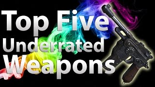 getlinkyoutube.com-TOP 5 Underrated Guns in 'Call of Duty Zombies' - Black Ops 2 Zombies, Black Ops & WaW
