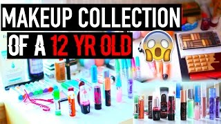 getlinkyoutube.com-MAKEUP Collection! of a 12 YEAR OLD
