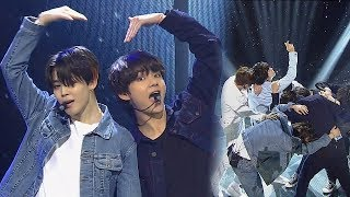 《POWERFUL》 BTS(방탄소년단)   FAKE LOVE @인기가요 Inkigayo 20180610