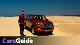 getlinkyoutube.com-Isuzu D-Max 2017 review | first drive video