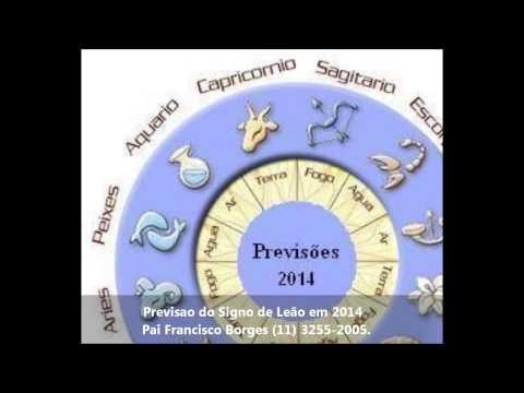 Previsão do Signo de Leão em 2014 - Pai Francisco Borges (11) 3255-2005