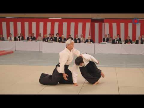 Moriteru Ueshiba Doshu - All Japan Aikido 2017