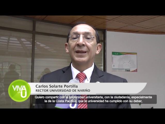 RECTOR PARTICIPO EN PLAN NACIONAL DE DESARROLLO PARA SOLICITAR RECURSOS PARA UDENAR