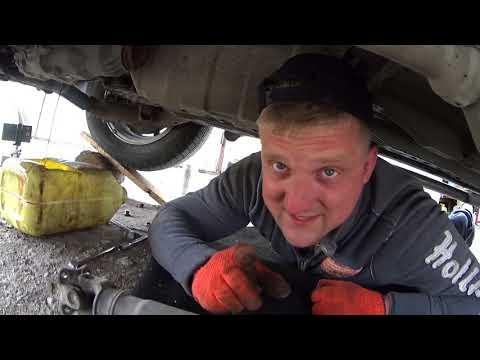 Установка кардана и замена масла в редукторе. Honda cr-v