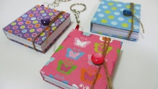 DIY : #99 Mini Notebook Keychain ♥