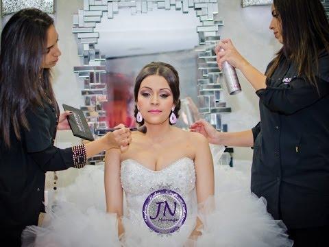 Maquillage libanais pour la mariée