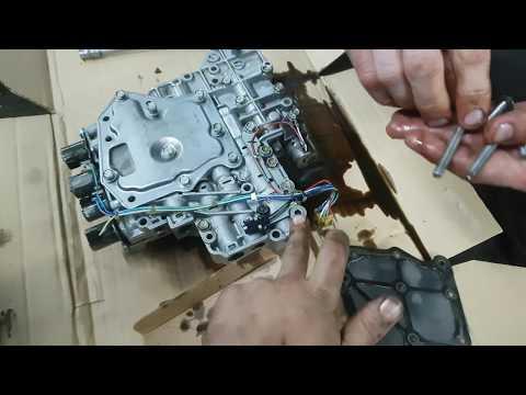 Nissan Almera Classic. Замена масла АКПП со снятием потдона и заменой фильтра.