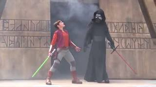getlinkyoutube.com-Darth Vader, Kylo Ren, Darth Maul, and The Seventh Sister - Trials of the Temple - Jedi show