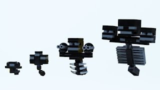 getlinkyoutube.com-How To Build LEGO Minecraft Wither