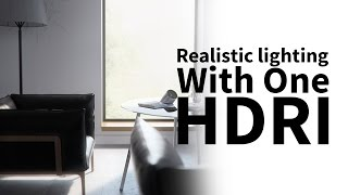 getlinkyoutube.com-Cinema 4d & vray tutorial - realistic lighting with one light only