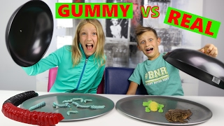 getlinkyoutube.com-GUMMY vs REAL