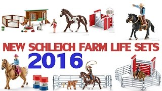 More new Schleich horses and farm life sets 2016! [FARMLIFE]