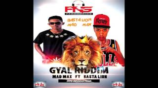 BASTA LION Ft MAD MAX - Baby gyal riddim II PNS PRODUCTION