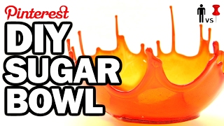 getlinkyoutube.com-DIY SUPER SUGAR BOWL - Man Vs Pin #106