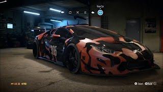 getlinkyoutube.com-Need For Speed 2015 - Lamborghini Huracan LP610-4 2015 - Customize Car | Tuning (XboxONE HD) [1080p]