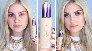getlinkyoutube.com-Tarte Rainforest Of The Sea Water Foundation ♡ First Impression Review