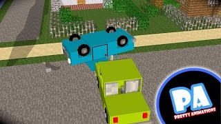getlinkyoutube.com-Stupid Car - A Minecraft Animation