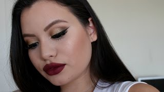 getlinkyoutube.com-Fall Makeup 2015 | Valeria Dugarte