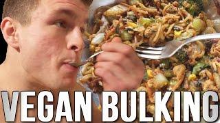 getlinkyoutube.com-Day of Vegan Eating - Bodybuilder on a Bulk!