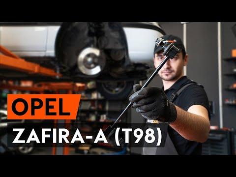 Где рычаги передней подвески у Opel Астра ОРС