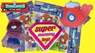 getlinkyoutube.com-Zomlings Series 4 Blind Bags Toy Unboxing