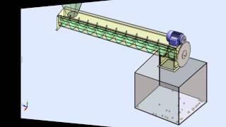getlinkyoutube.com-Solidworks Motion Screw Conveyor