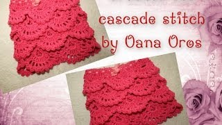 getlinkyoutube.com-crochet the cascade stitch
