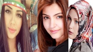 getlinkyoutube.com-Arab vs Indian vs Turkish vs Iranian Beauty 2015