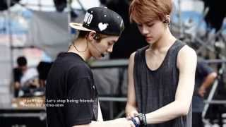 getlinkyoutube.com-Hun♥Han [Sehun-Luhan] - Let's stop being friends