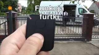 getlinkyoutube.com-Nice Robus 600 - brama przesuwna z funkcją furtki
