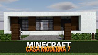 getlinkyoutube.com-Minecraft: Construindo uma Casa Moderna 7 (Minimalista)