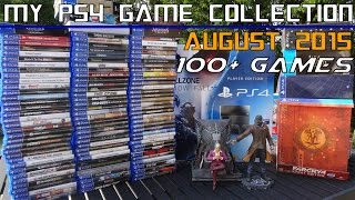 getlinkyoutube.com-My PS4 Game Collection! (August 2015) 100+ physical PlayStation 4 games