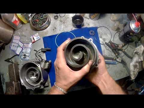 Ремонт, замена сальника компрессора кондиционера CHRYSLER Sebring.