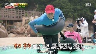 getlinkyoutube.com-Kwang-Soo is pitted against Ki-Woo Running Man Ep 306