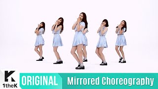 getlinkyoutube.com-[Mirrored] GFRIEND(여자친구)_NAVILLERA Choreography(너 그리고 나 거울모드 안무영상)_1theK Dance Cover Contest