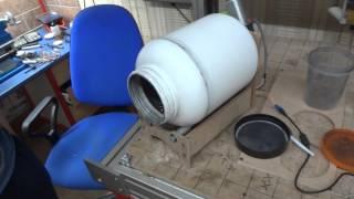 getlinkyoutube.com-Шаровая мельница+Звездокатка (Balls milling machine for Fireworks)