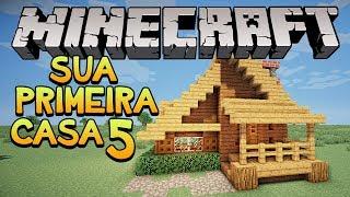 getlinkyoutube.com-Minecraft: Construindo sua primeira casa! #5
