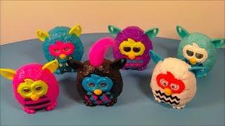 getlinkyoutube.com-2013 FURBY BOOM SET OF 6 McDONALD'S HAPPY MEAL KID'S TOY'S VIDEO REVIEW