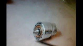 getlinkyoutube.com-Ponto rotativo para torno de bancada, feito com soquete de chave 21mm