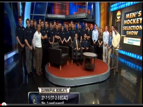 QU Men's Ice Hockey in ESPN/NCAA Selection Show