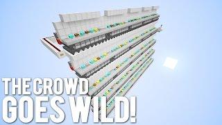 Minecraft: Crowd Goes Wild Machine!