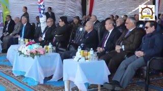 زيارة رئيس الوزراء لميناء دمياط لتدشين خط النقل النهري دمياط / القاهرة:16-1-2016