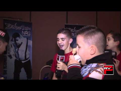 It's cartoon character voice time with ICONic Boyz