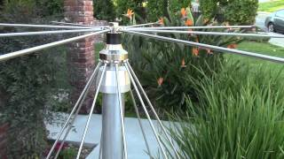 getlinkyoutube.com-AE6LX Installs a Jetstream Discone VHF/UHF Antenna
