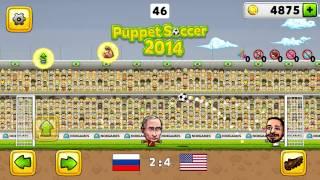 getlinkyoutube.com-Puppet Soccer 2014 - Football Android Gameplay #1